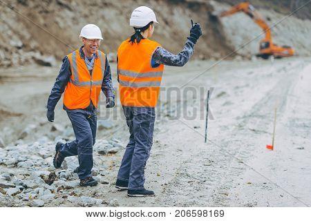 worker construction build road engineer highway service