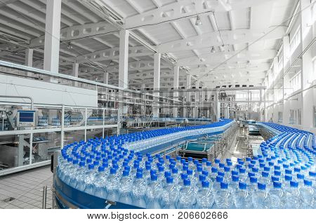 For The Production Of Plastic Bottles Factory