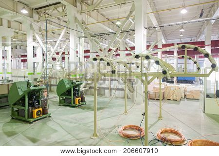 Plant For The Production Of Household Air Conditioners