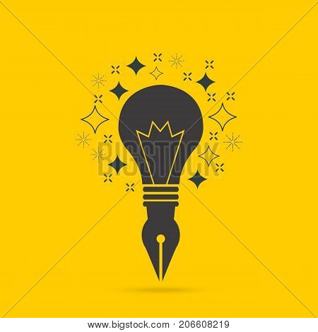 Idea icon. Idea icon vector. Idea icon simple. Idea icon app. Idea icon web. Idea abstract logo.Idea icon sign.Peacock icon flat. Peacock icon eps. Idea icon art