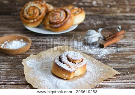 Swedish Sweet Pastry For Breakfast