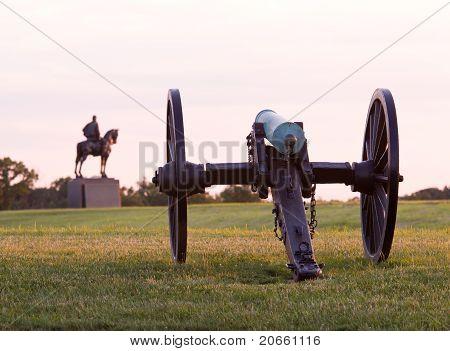 Cannons At Manassas Battlefield