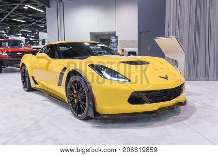 Chevrolet Corvette On Display
