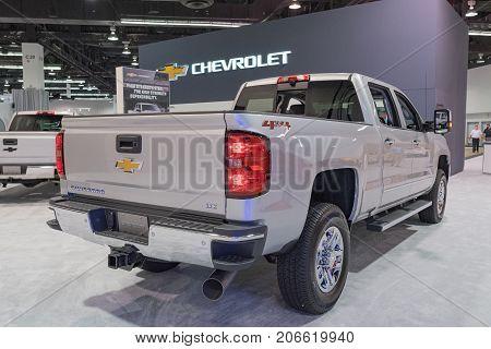 Chevrolet Silverado 2500Hd Ltz On Display