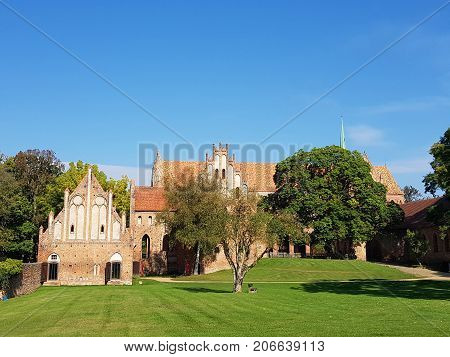 The former Cistercian monastery Chorin in Germany