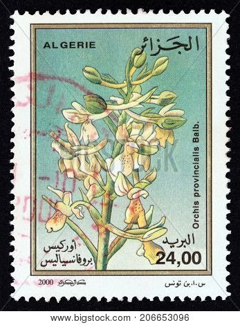 ALGERIA - CIRCA 2000: A stamp printed in Algeria from the