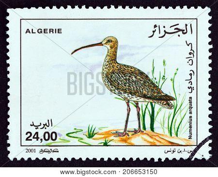 ALGERIA - CIRCA 2001: A stamp printed in Algeria from the