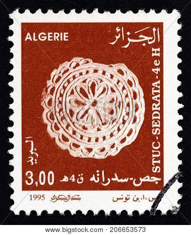 ALGERIA - CIRCA 1995: A stamp printed in Algeria from the