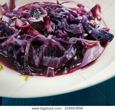 Devilish Red Cabbage