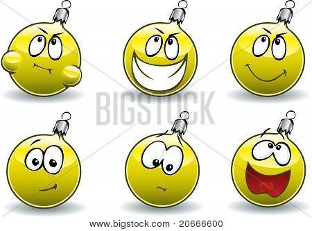 Gold Ball-Balls