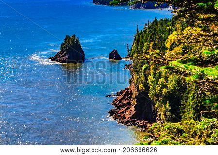Bay of Fundy, Alma, New Brunswick, Canada