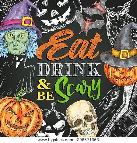 Halloween Trick Treat Vector & Photo (Free Trial)   Bigstock