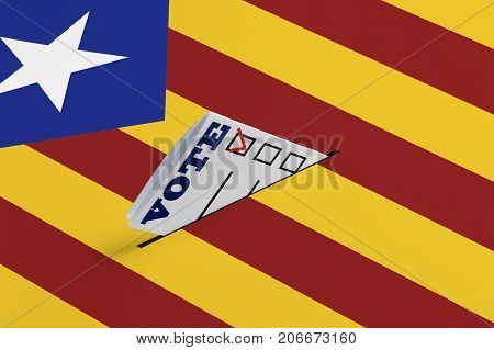 Elections Freedom Democracy Independence of a Referendum Concept. Electoral Bulletin Falls