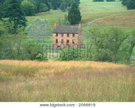 Stone House At Manassas (Bull Run) Battlefield