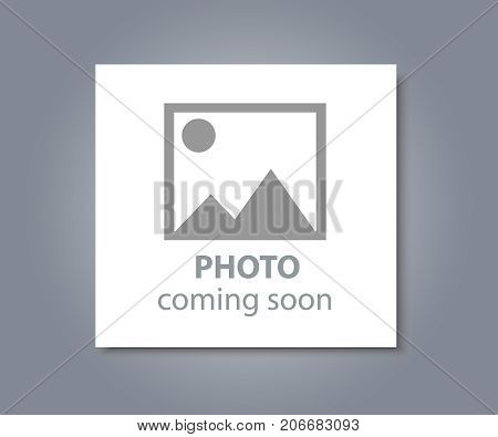 Photo coming soon. Picture frame vector illustration