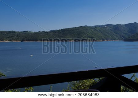 Kardjali dam is a dam in Bulgaria one of the three big dams along with the Studen Kladenets dam and Ivaylovgrad reservoir which accumulate the waters of the Arda River and its tributaries.