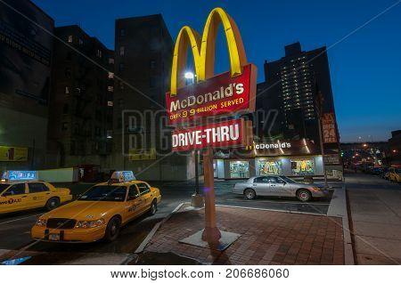 Mcdonalds Restaurant - Nyc