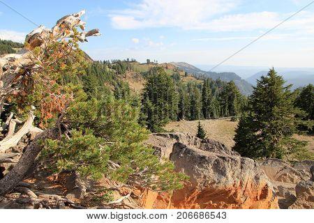 Lassen Volcanic National park in California, USA