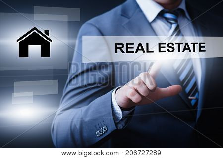 Real Estate Mortgage Property Management Rent Buy concept.