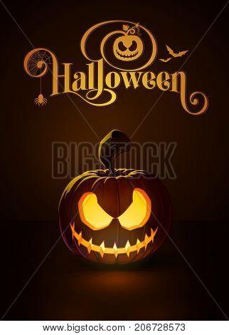 Jack-o-lantern Dark Scary Rag-doll