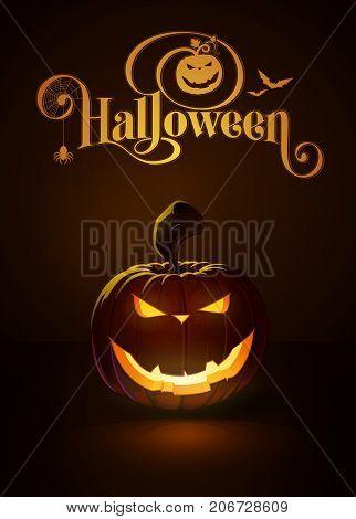 Jack-o-lantern Dark Evil Smile