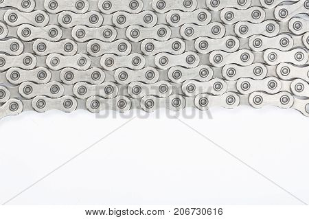Bicycle chain 10 speed - Stock image