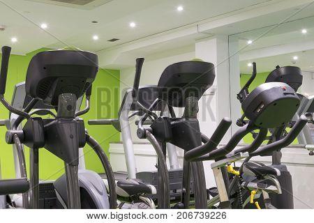 Elliptical Machines And Treadmills Gym Cardio Equipment