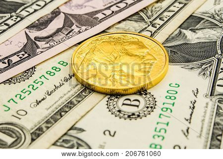 American Dollar Backed By Gold