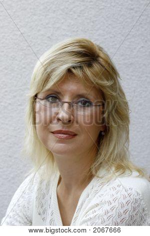 Portrait Blond Women