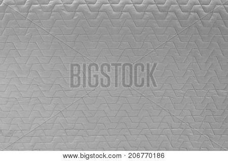Fabric Texture Close Up of Gray Seamless Pattern Textile Background.