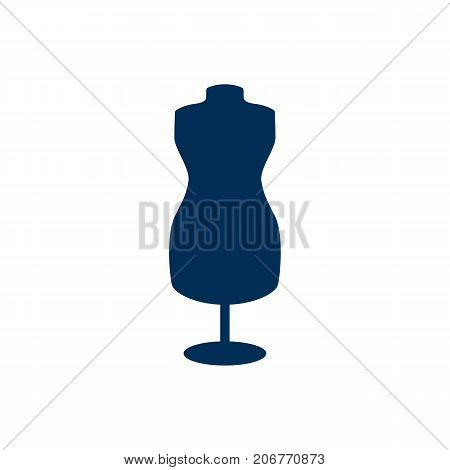 Vector Dummy Element In Trendy Style.  Isolated Mannequin Icon Symbol On Clean Background.