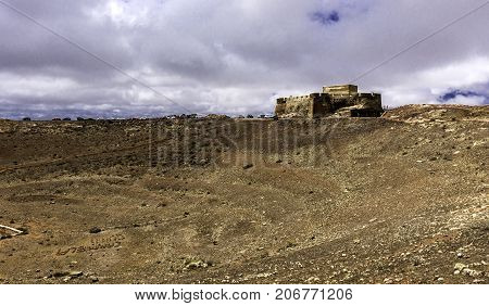 Castle of Santa Barbara - Castillo de Guanapay / Lanzarote, Canary Islands, Spain