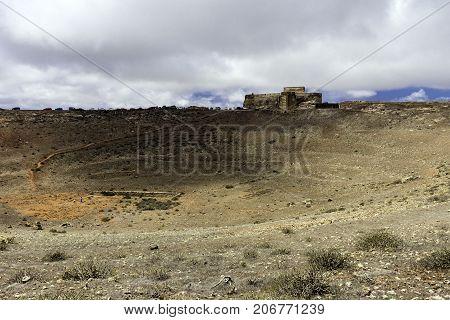 Castle of Santa Barbara - Castillo de Guanapay / Lanzarote, Canary Islands, Spain