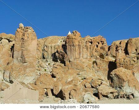 Village Barrancos, Altiplano, Bolivia