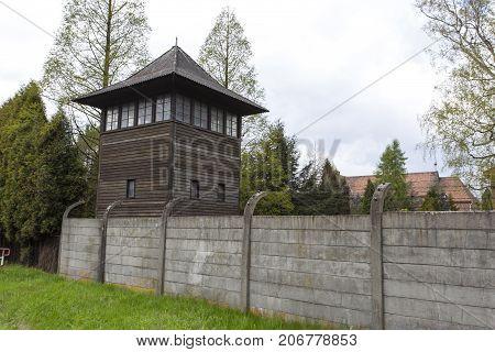 Auschwitz I Birkenau Watch Tower