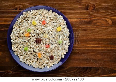 Muesli With  Dried Fruit