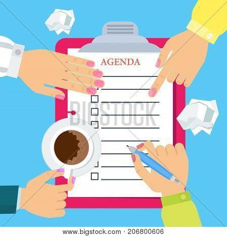 Womens Write Agenda