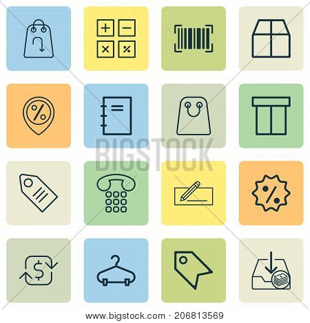 E-Commerce Icons Set. Collection Of Money Transfer, Refund, Peg And Other Elements