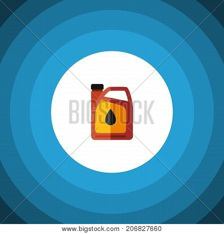 Jerrycan Vector Element Can Be Used For Oil, Jerrycan, Fuel Design Concept.  Isolated Fuel Canister Flat Icon.