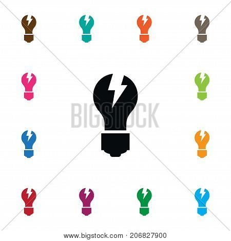 Imagination Vector Element Can Be Used For Imagination, Light, Bright Design Concept.  Isolated Bright Icon.