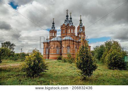 The Michael Archangel church in Mordovo, Tambov region