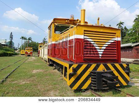 Vintage Diesel Engine