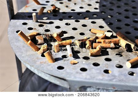 An Image of a ashtray - Smoking, cigarette
