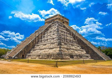 Chichen Itza one of the new seven wonders