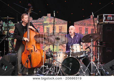 LVIL, UKRAINE - JUNE 3: John Scofield Jazz Quartet in concert during Alfa Jazz Festival on June 3, 2011 in Lviv, Ukraine.