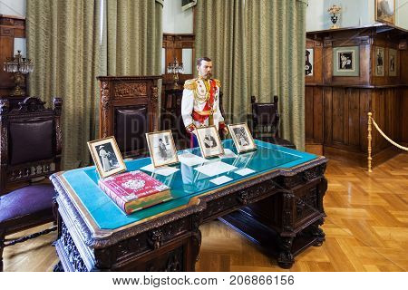 Working Room In Livadia Palace