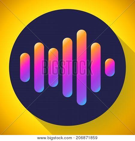 sound waves vector icon soundwave logo vectoor