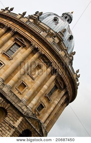 A detail of Bodleian library in Oxford