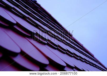 Tile Roof, Concrete