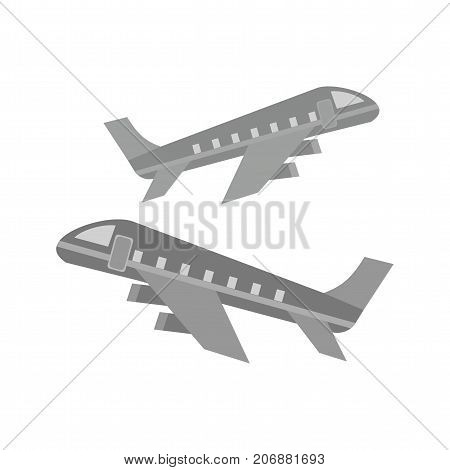 Multiple, booking, flights icon vector image. Can also be used for airport. Suitable for mobile apps, web apps and print media.